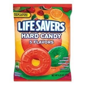 LifeSavers 88501 5 Flavors Hard Candy Bag, 6.25 ounce