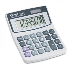 Canon 4075A007AA LS82Z Minidesk Calculator, 8-Digit LCD