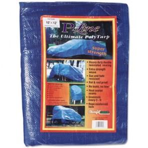 Anchor Brand 1012 Multiple Use Tarpaulin, Polyethylene, 10 ft x 12 ft, Blue