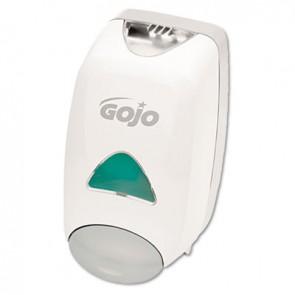 GOJO 515006 Liquid Foaming Soap Dispenser, 1250mL, 6 1/8w x 5 1/8d x 10 1/2h, Gray/White
