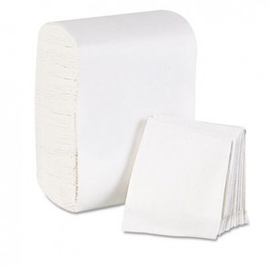 Georgia Pacific Professional 39202 Low Fold Dispenser Napkins, 7 x 12, White, 8000/Carton