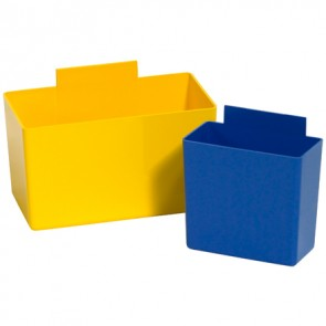 Partners Brand BINC523Y Plastic Bins, CS